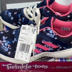 Super beautiful girls tennis shoes adidas